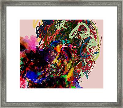 We Have A Problem Framed Print by James Thomas