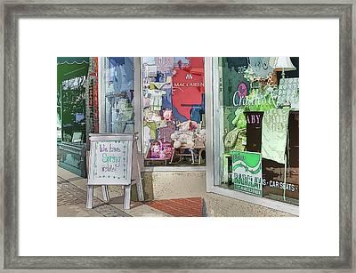 We Have Spring Inside Framed Print by David Bearden