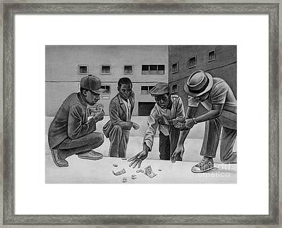 We Know Better Framed Print by Curtis James