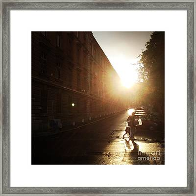 We Live In Budapest #11 Framed Print