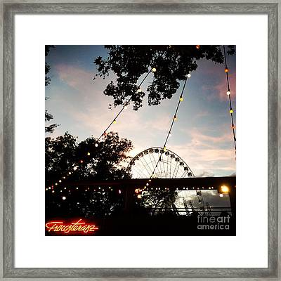 We Live In Budapest #7 Framed Print