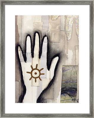 we make walls and windows II Framed Print