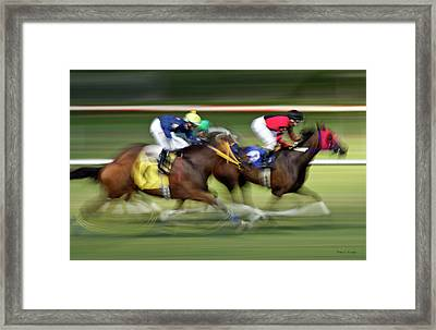 We Only Train The Best Framed Print