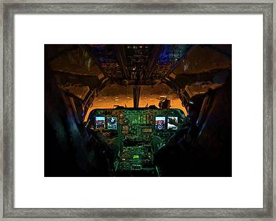 We Own The Night Framed Print by JC Findley