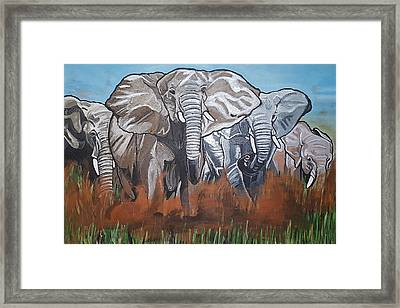 We Ready For De Road Framed Print