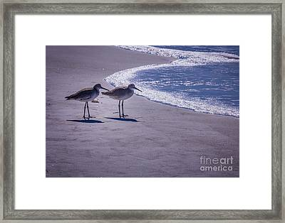 We Stand Together Framed Print by Marvin Spates