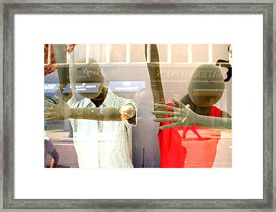 We Welcome You In Our Way Framed Print by Jez C Self