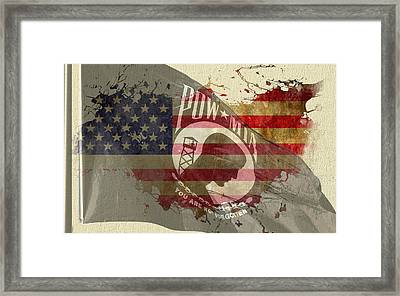 We Will Remember You Framed Print