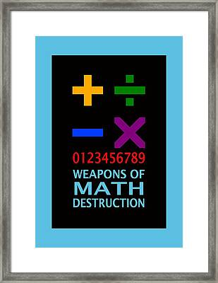 Weapons Framed Print by Mal Bray