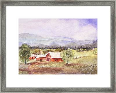Wear's Valley 1 Framed Print by Barry Jones