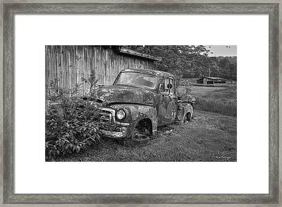 Wears Valley Gmc 2 Wears Valley Tennessee Art  Framed Print