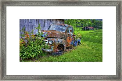 Wears Valley 1954 Gmc Wears Valley Tennessee Framed Print