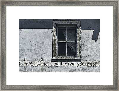 Weary Framed Print by Andrew Paranavitana