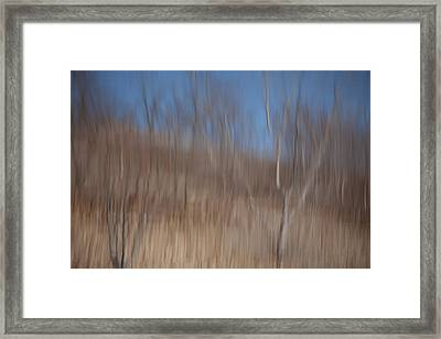 Weary Reflections Framed Print