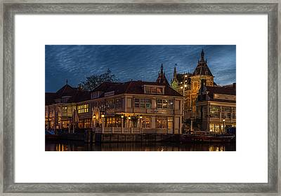 Weather Change On The Way Framed Print