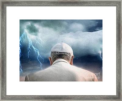 Weather The Storm Framed Print by Amy Cicconi