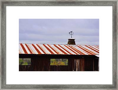 Weather Vane Framed Print by JAMART Photography