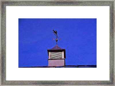 Weather Vane Framed Print by Randy Muir