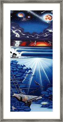 Weather Your Storms Framed Print by Michael  Brindley
