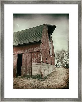 Weathered ... Framed Print by Tom Druin