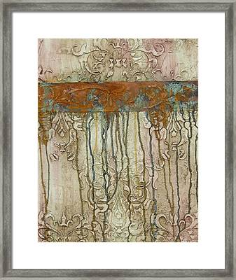 Weathered Framed Print by Chris Brandley
