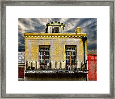 Weathered Framed Print by Christopher Holmes