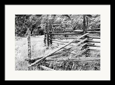 Ewing Snell Ranch Framed Prints