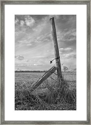 Weathered Framed Print