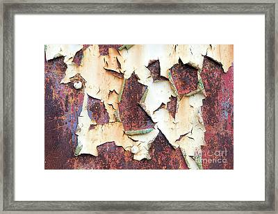 Weathered N Rustic Framed Print by Tim Gainey