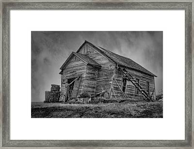 Weathered Framed Print by Nikolyn McDonald