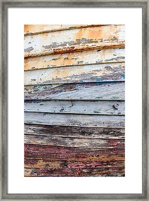 Weathered Paintwork Framed Print