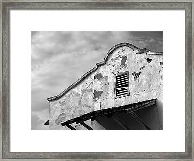 Weathered Sanctuary Framed Print