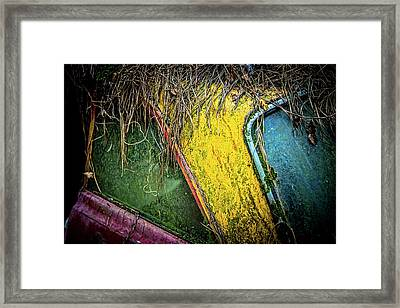 Weathered Vehicle Framed Print
