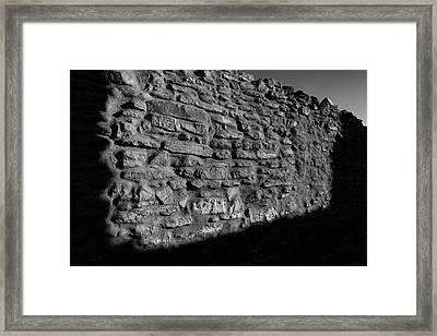 Weathered Wall Framed Print by Michael Osborne