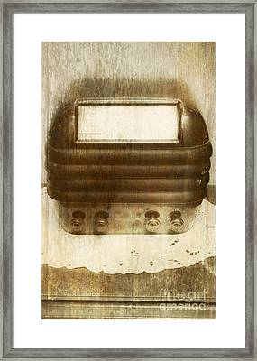 Weathered Wireless Framed Print by Jorgo Photography - Wall Art Gallery