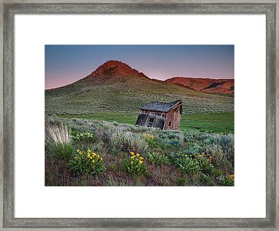 Weathered With Time Framed Print by Leland D Howard