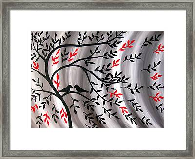 Weathering The Storm Framed Print by Cathy Jacobs
