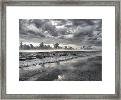 Weathering The Storm Framed Print