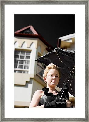 Weathering The Storm Framed Print by Jorgo Photography - Wall Art Gallery