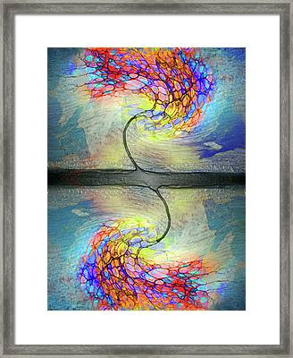 Weathering The Storm Framed Print by Tara Turner