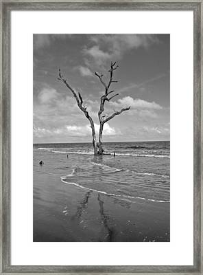 Weathering The Tide Framed Print by Donnie Smith