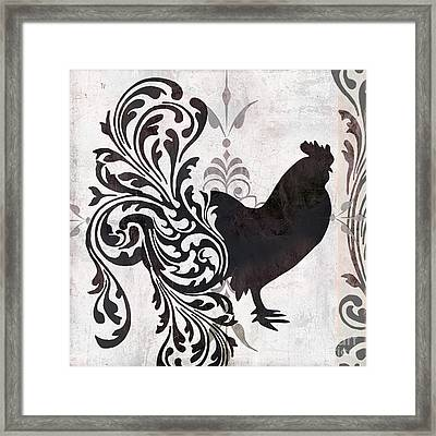 Weathervane II Framed Print by Mindy Sommers