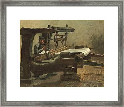 Weaver, 1884 02 Framed Print by Vincent Van Gogh