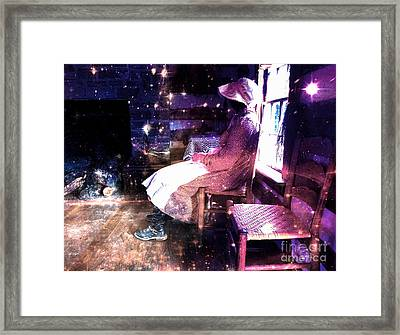 Weaver Of Lost Dreams  Framed Print by Steven Digman