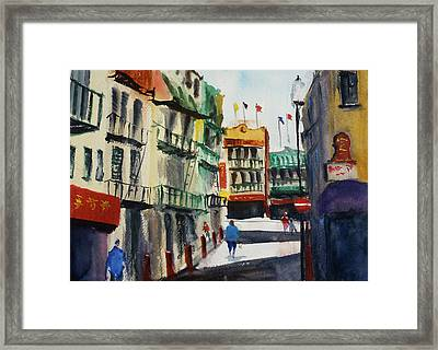 Waverly Place Framed Print
