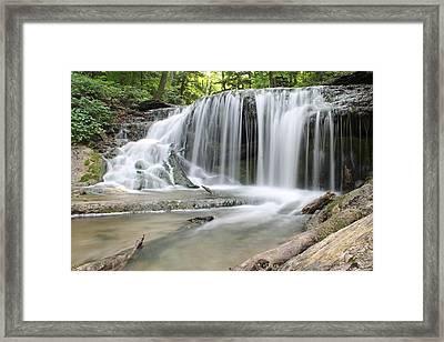 Weaver's Creek Falls Framed Print
