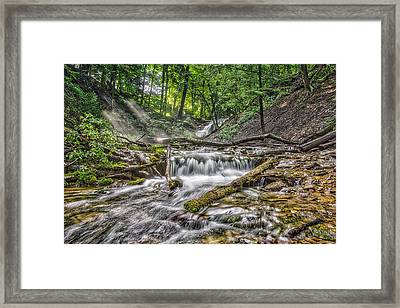 Weaver's Creek Falls Framed Print