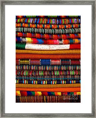 Weavings 5 Framed Print by Mexicolors Art Photography