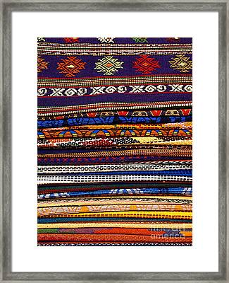 Weavings 7 Framed Print by Mexicolors Art Photography
