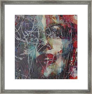 Web Of Deceit Framed Print by Paul Lovering
